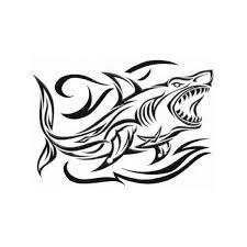 black and white animals tribal temporary tattoos