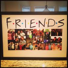 use the friends for the wall with lots of pics and lights diy