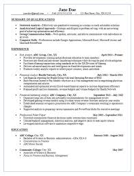 summaries for resumes risk analyst resume example financial u0026 marketing analysis