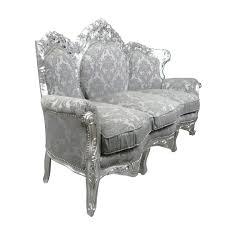 canapé style baroque canapé baroque gris rococo meuble baroque