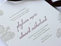 Letterpress Invitations Bespoke Letterpress Invitations For An Indian Inspired Wedding