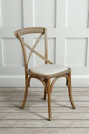 Cross Back Chair Chamborde French Vintage Farmhouse Crossback Chair My Furniture