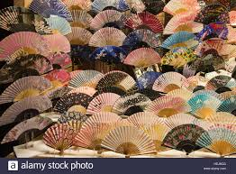 japanese fans japanese fans kyoto japan stock photo 129477952 alamy