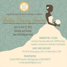 all the essentials wedding planner philippine association of wedding planners pawp home