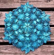 Origami Tessalation - origami tessellations awe inspiring geometric designs