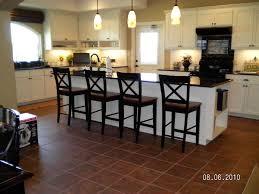 travertine countertops bar height kitchen island lighting flooring