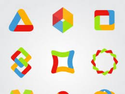 coloured templates coloured logo template free vectors ui download