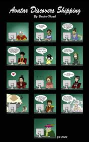 Avatar Memes - avatar discovers shipping avatar the last airbender the legend