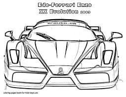 25 Sports Car Coloring Pages For Children In Ferrari Logo