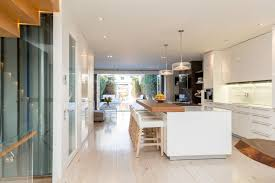 Kitchen Design Washington Dc by Impeccable Modern Townhouse In Georgetown With Glass Elevator