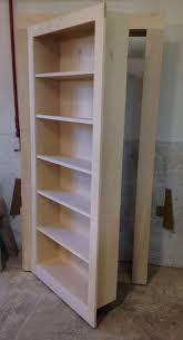 handmade secret bookcase door by customcraft homes u0026 millwork