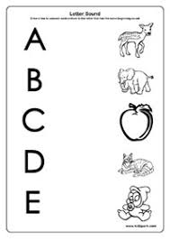 letter sound worksheets activity sheets for kids learning activities