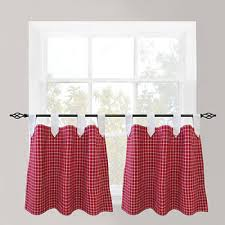 checked curtains u0026 drapes for window jcpenney