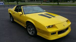 88 camaro iroc z for sale yellow iroc z 5 0l tpi with t tops for sale photos technical