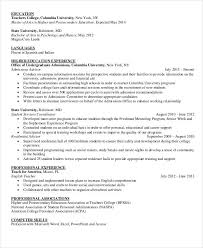 resume exles high education only disclaimer 15 professional education resume templates pdf doc free
