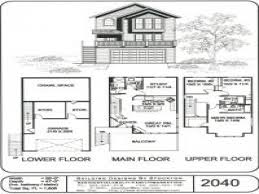 Roman Floor Plan by Beach House Plans 3 Floors Homes Zone