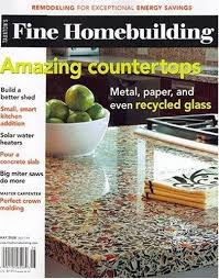 Fine Woodworking Magazine Tool Reviews by Fine Homebuilding Amazon Com Magazines