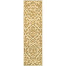 Gold Area Rugs Outdoor Indoor Ivory Gold Area Rug Free Shipping On Orders