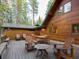 sunriver chalet walk to the village bikes wood fireplace 2