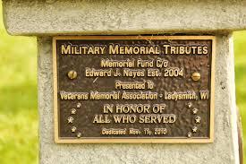 memorial tributes wisconsin historical markers memorial tributes