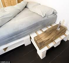 How To Make A Platform Bed Out Of Pallets - the austerity house couple completely make over their home with