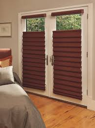 Dark Brown Roman Blinds Dark Vignette Modern Roman Shades On A French Door For Sale At
