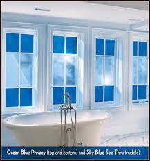 Ideas For Bathroom Windows Colors Want Blue Windows Home Pinterest Window Film Window And