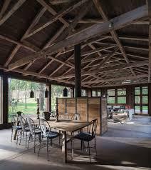 Barnhouse by Rustic Barn House Near Lake Ranco By Estudio Valdés Arquitectos