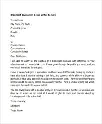 trainee journalist cover letter