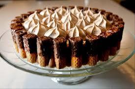 chocolate wafer roll dessert