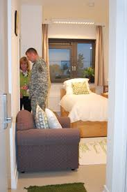 wounded warriors receive upgraded living quarters article the
