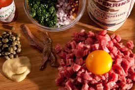 ingredient cuisine steak tartare recipe chowhound