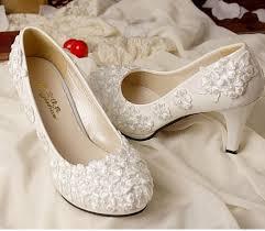 wedding shoes no heel low heel ivory wedding shoes 2017 fashion ivory lace wedding shoes