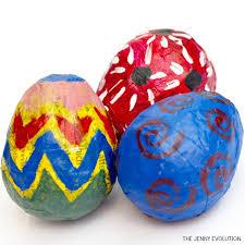 papier mache easter eggs diy easter paper mache eggs the evolution