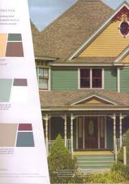 Exterior House Paint Schemes - exterior house color ideas behr paint