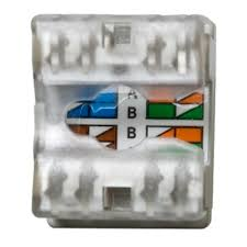 category 5e rj45 keystone connector white legrand