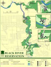 Elyria Ohio Map by Black River Reservation Maplets