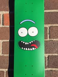 Rick And Morty Pickle Rick Skateboard