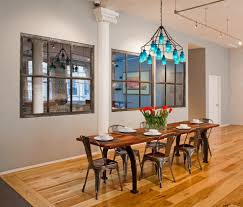 good looking distressed mirrors dining room contemporary with