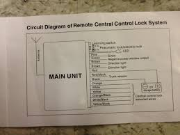 6n aftermarket central locking help electrical and lighting
