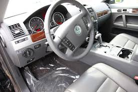 volkswagen touareg interior 2004 test drive for moms cartype