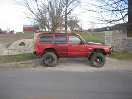 lifted jeep red 1998 lifted jeep cherokee ls1tech camaro and firebird forum