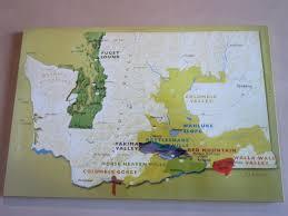 Walla Walla Washington Map by Washington State Wine Tasting Travels Yakima Valley And Walla