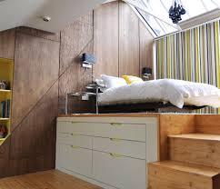 Elevated Platform Bed London Elevated Platform Bed Bedroom Contemporary With Black