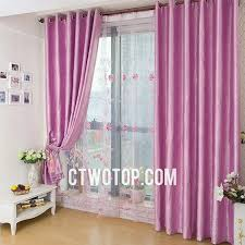 Shabby Chic Voile Curtains Pink Floral Patterned Blackout Toile Shabby Chic Beautiful Curtains