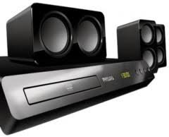 Buy Philips Htb5520 94 5 1 3d Blu Ray Home Theatre Black Online At - philips hts3532sl 94 5 1 dvd home theatre system price in india may