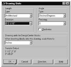 setting the drawing units templates and reusability autocad vba