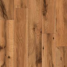 Lamination Flooring Shop Allen Roth 4 96 In W X 4 23 Ft L Lodge Oak Handscraped Wood