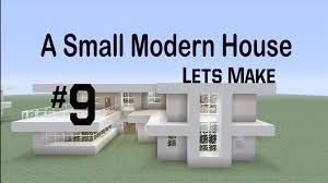 Modern House by Let U0027s Make A Small Modern House 9 Youtube