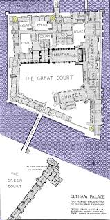 Palace Floor Plans Medieval Eltham Home Page